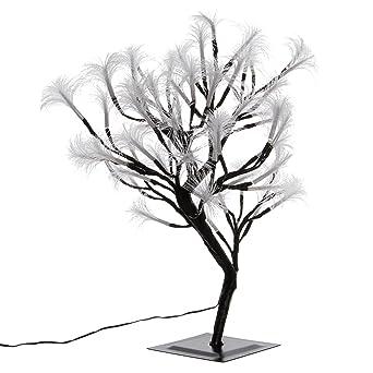 Weihnachtsbeleuchtung Led Baum.Nipach Gmbh 64 Led Baum Mit Blüten Blütenbaum Lichterbaum Weiß 45 Cm Hoch Trafo Ip44 Weihnachtsbeleuchtung Weihnachtsdeko Lichterdeko Xmas