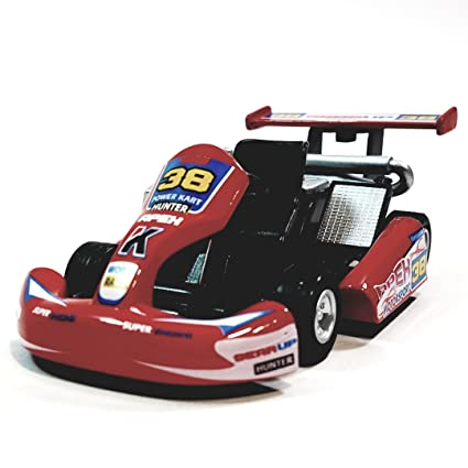 "Kinsmart Red #38 Hunter Motorsport Turbo Go Kart 5"" Diecast Vehicle"