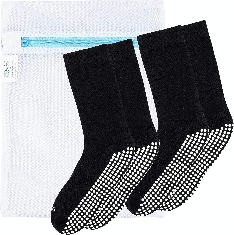 Yoga Hospital Labor Pilates Grips for Barre Mesh Washing Bag Skyba Non Slip Socks for Women
