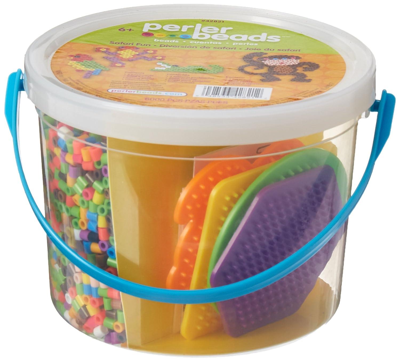 Perler Beads 42821 Perler Safari Fun Activity Bucket_42821
