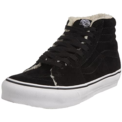 e19cd45d2c Vans Unisex-Adult Sk8 Hi Fleece Sf (fleece) Black Trainer VKXH1CK . 040