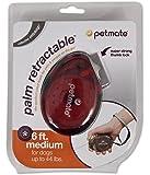 Petmate 10076 Translucent Palm Retractable Pet Leash, Large, Assorted