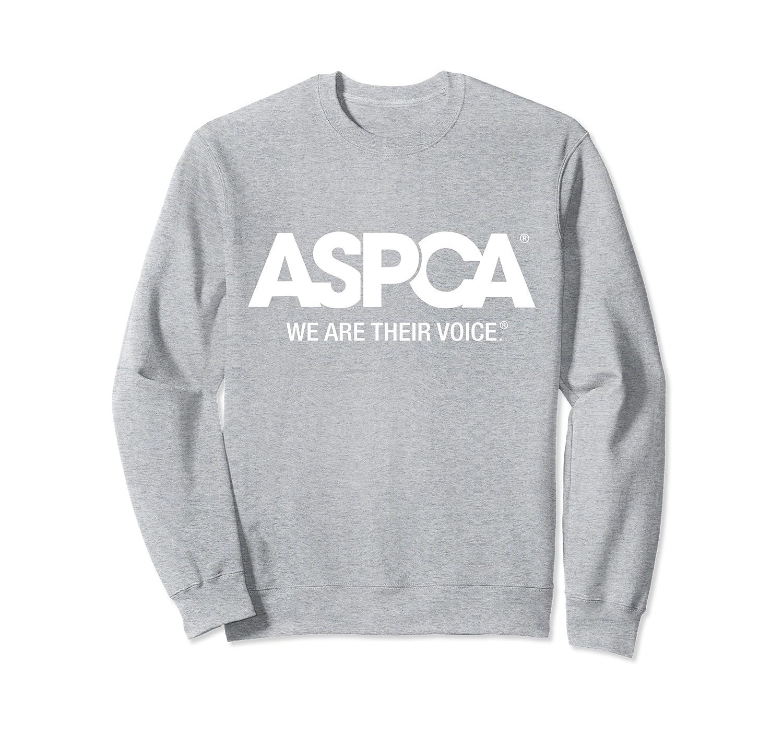 ASPCA We Are Their Voice Logo Sweatshirt-alottee gift