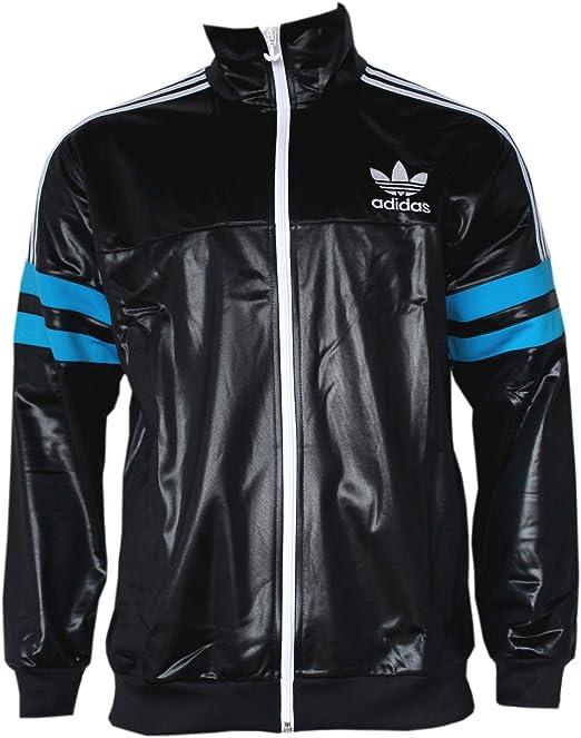 98d14269666f Adidas M Cile 62 TT2 Track Top Giacca Black / Solblue G90071 M: Amazon.it:  Abbigliamento