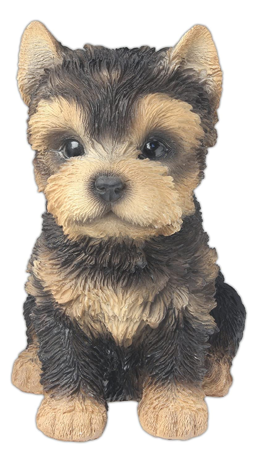 """Nature's Gallery """"Pet Pals"""" Statue (Yorkshire Terrier Puppy)"""