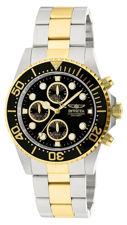 Amazon.com: Invicta Men's 1772 Pro Diver Collection Chronograph Watch:  Invicta: Watches