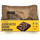 Paleo Brownies, Chocolate with Almond Butter Drizzle, 100% Gluten Free Paleo Snack, 6g Protein Per Brownie, Crafted by Base Culture (2 Count)