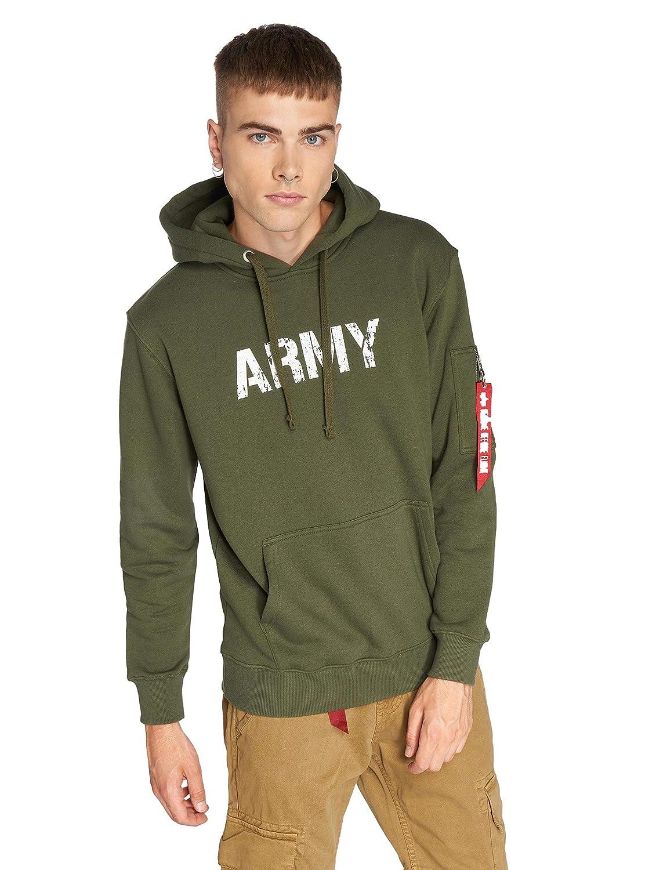 Alpha Industries Army Navy Hoodie Militärgrün 3XL