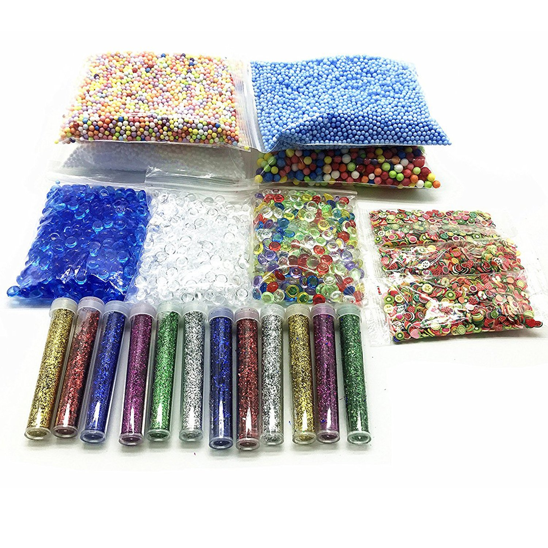25 unidades DIY Slime Kit para niñas, diseño de brillantina ...