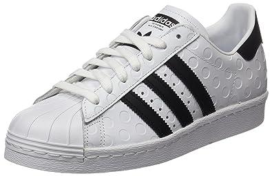 best cheap 59144 56c0a adidas Superstar 80s W, Chaussures de sport femme, Blanc (Footwear White  core