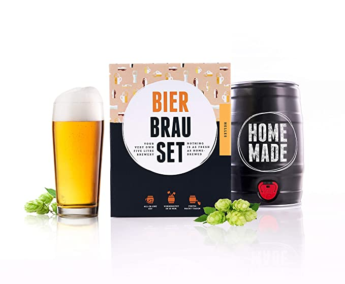 2b2245f8 Beer Making Kit Lager - Lager In A 5-Litre Keg - Ready In 7 Days ...