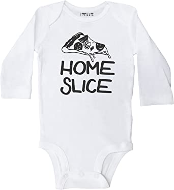 Baby Onesies Pizza is My Bae 100/% Cotton Newborn Baby Clothes Stylish Short Sleeve Bodysuit