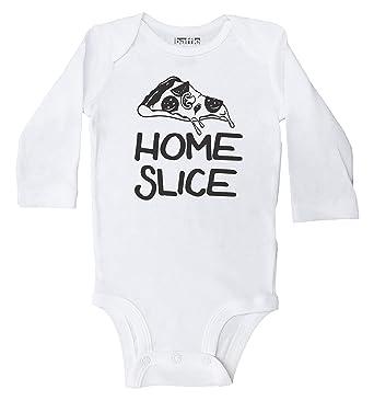 f055de50d Baffle Baby / Home Slice / Funny Pizza Onesie for Boys or Girls / Bodysuit (