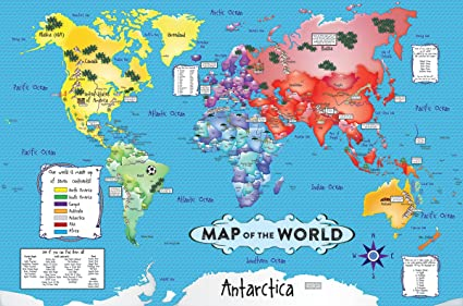 Amazon white mountain puzzles world map 36 piece jigsaw white mountain puzzles world map 36 piece jigsaw puzzle gumiabroncs Image collections