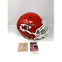 $599 » Patrick Mahomes Kansas City Chiefs Signed Autograph Speed Full Size Helmet JSA Witnessed Certified