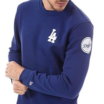 New Era Ne92238Fa16 MLB Crew Neck Losdod Dry - Felpa-Linea Los Angeles  Dodgers da Uomo 9528c45f8d1