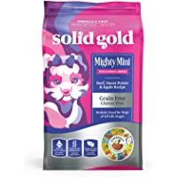Solid Gold - Mighty Mini with Sensitive Stomach Probiotic Support - Grain-Free Holistic Dry Dog Food for Toy And Small…