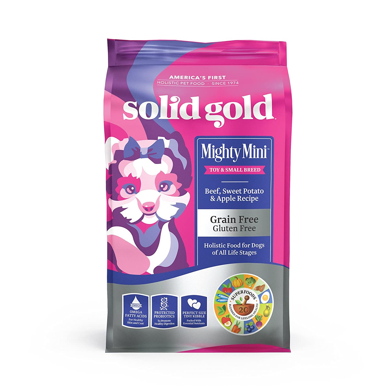 1.Solid Gold Small & Toy Breed Wet Dog Food with Real Protein