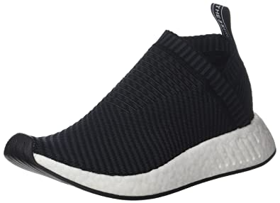 adidas Men NMD CS2 Primeknit (Black/Carbon/red Solid)