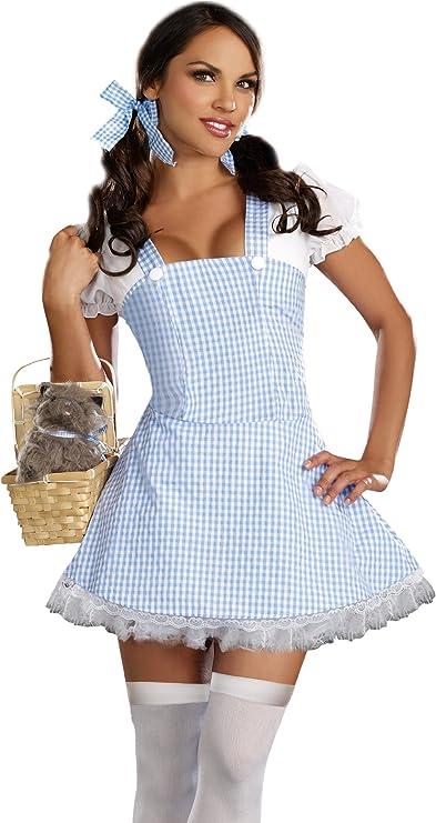 DreamGirl – Disfraz de Dorothy para Mujer,: Amazon.es: Juguetes y ...