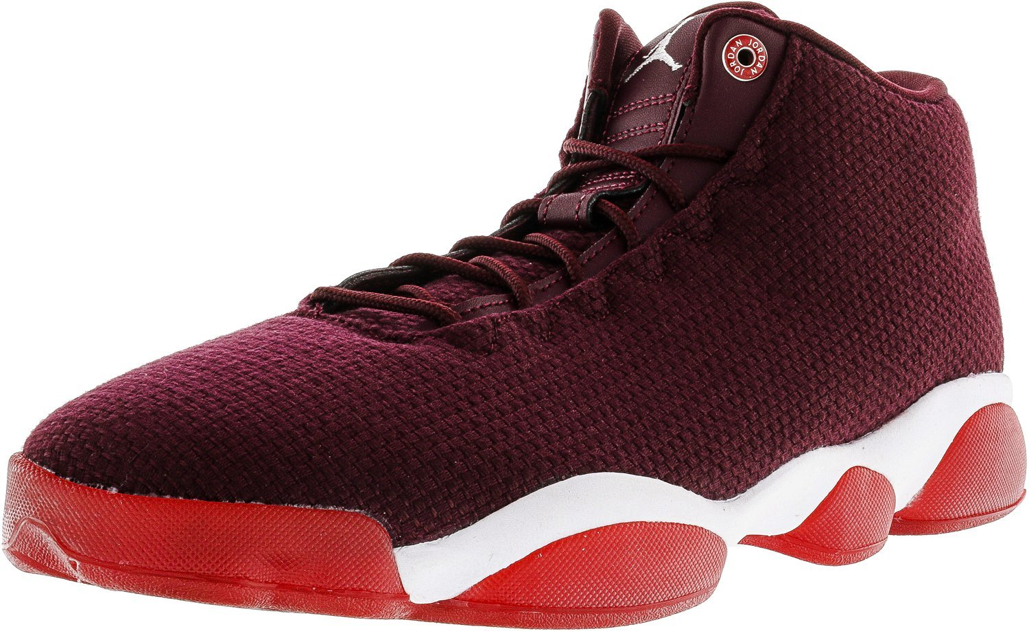 Nike Herren 845098-600 Basketballschuhe  42.5 EU|Weinrot (Night Maroon/White/Gym Red)