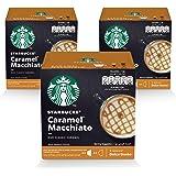 STARBUCKS Caramel Macchiato by NESCAFÉ Dolce Gusto Coffee (3X12 Capsules)
