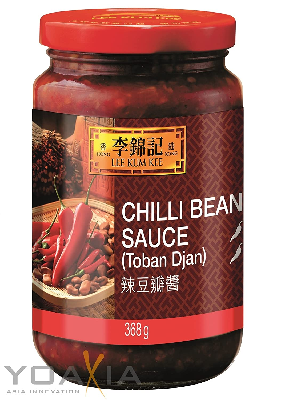 8cb3e4169 Lee Kum Kee Chilli Bean (Toban) Sauce 368G: Amazon.co.uk: Grocery