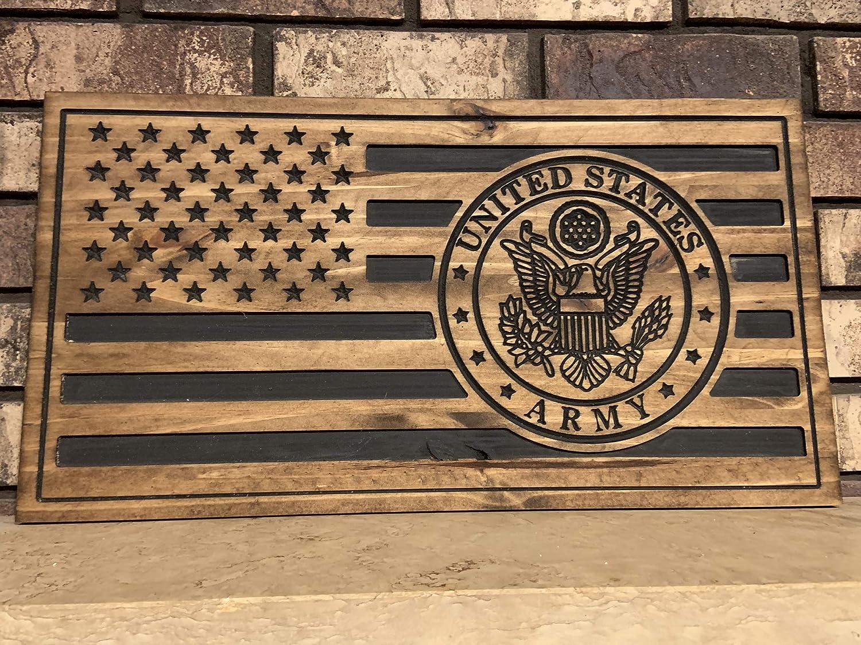 U.S Army American Flag Decor