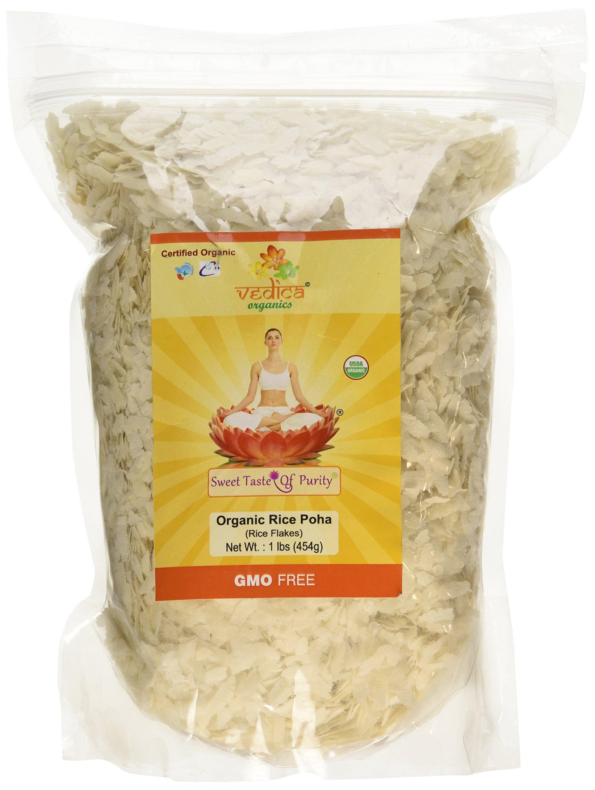 Organic Rice Poha (Beaten Rice)