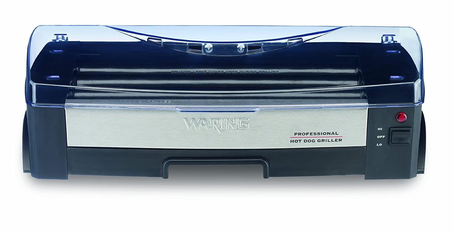 Amazon.com: Waring Pro HDG150 Professional Hot Dog Griller: Electric ...