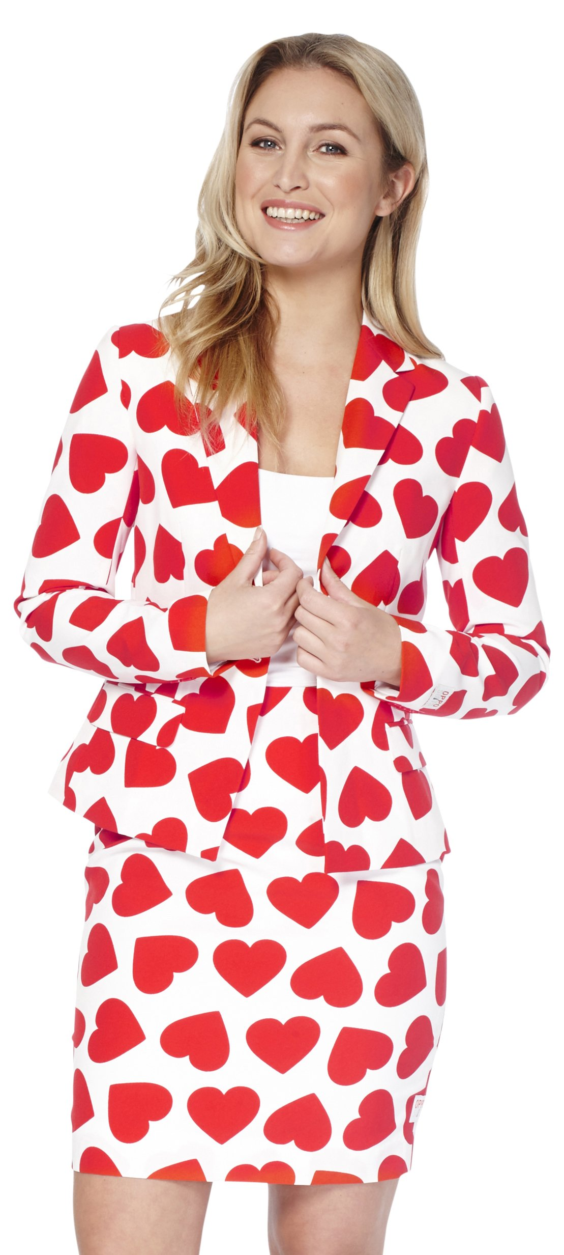Opposuits Womens 'Queen Of hearts' Party Suit, 8
