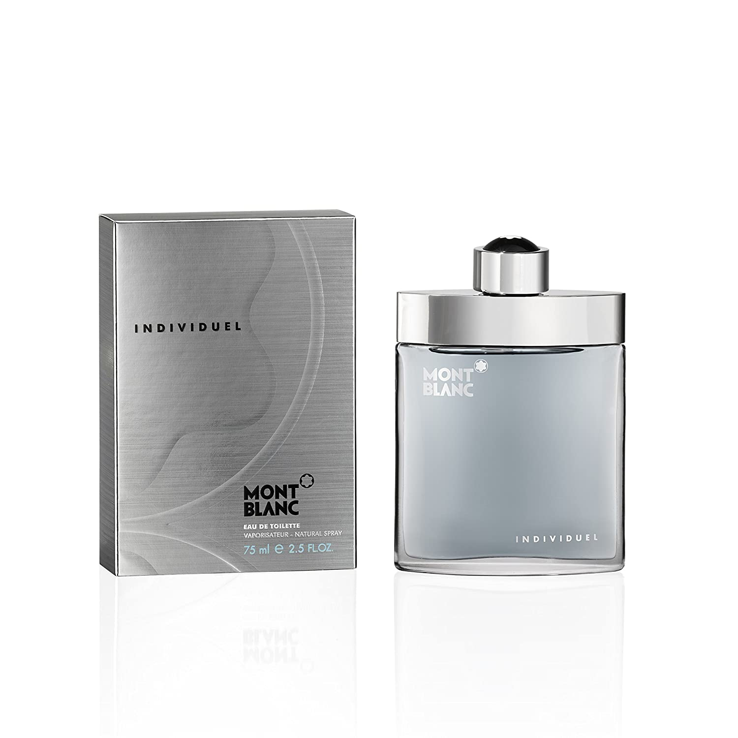 a657eeeb89 Amazon.com: MONTBLANC Individuel Eau de Toilette, 2.5 Fl Oz: MONT BLANC:  Luxury Beauty