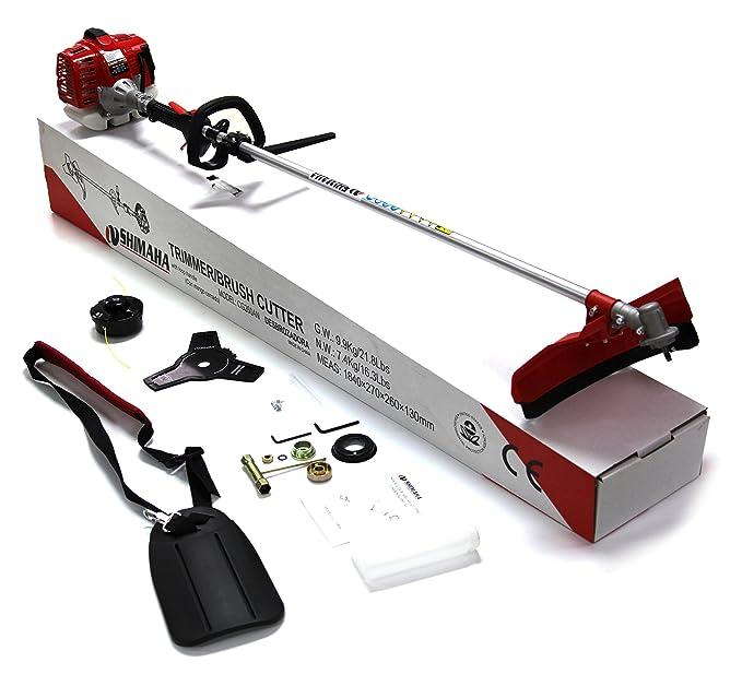 Amazon.com: SHIMAHA 26CC cortadora de maleza a gasolina ...