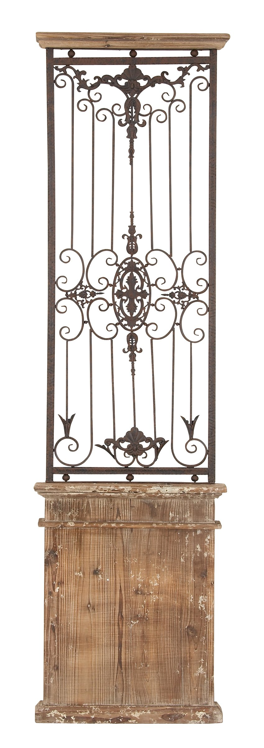 Deco 79 80944 Metal Wood Wall Gate Makes You Fall in Instant Love