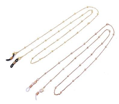 Amazon.com: 2 cadenas de gafas de sol para mujeres con ...