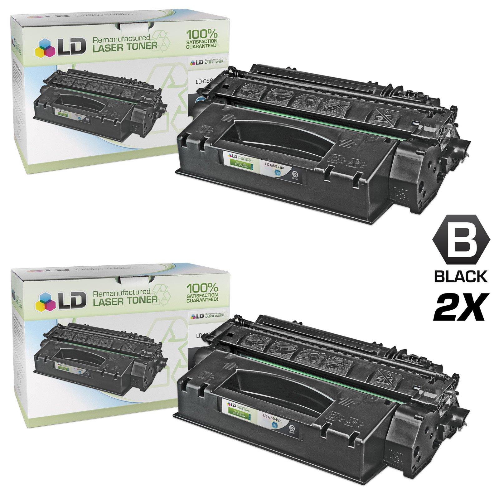 Toner Alternativo ( X2 ) Alta Capacidad Negro 49X Q5949X