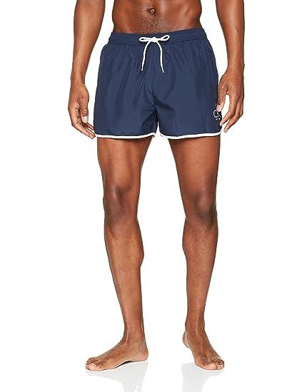 Mens Medium Double Wb Swim Trunks Calvin Klein Factory Outlet Footlocker Finishline Cheap Price bEkkW
