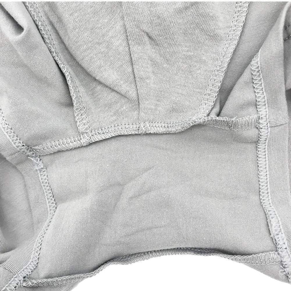BULOSS No Rid Up Boxer Brief,Comfortable Breathable Combed Cotton Underwear for Men (XXXL)