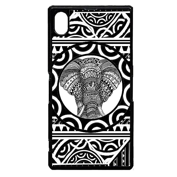 Polinesia samoano elefante Tatuaje tribal Arte Gráfico plástico ...