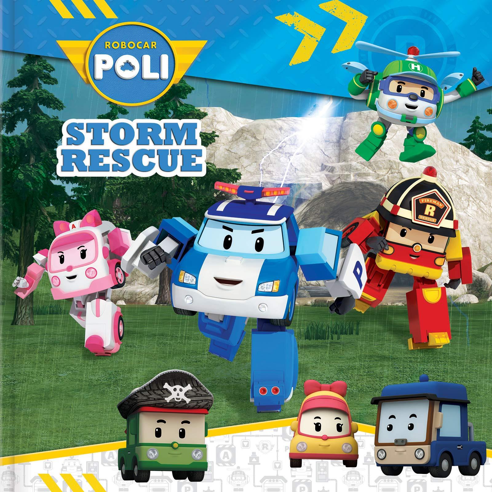 Robocar poli storm rescue paperback march 12 2019