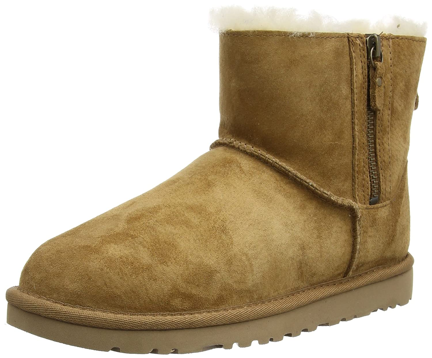 Ugg Australia Classic Mini Double Zip, Women's Boots, Brown (Chestnut), 5.5 UK (38 EU)