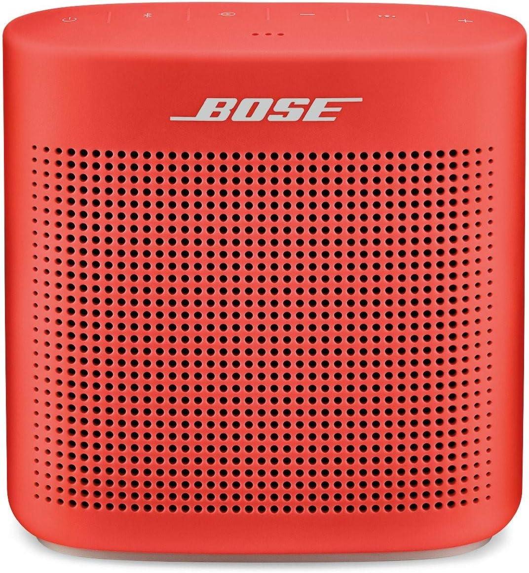Bose® SoundLink Color II - Altavoz Bluetooth, Rojo