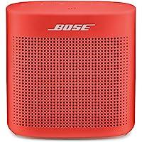 Bose SoundLink Color II Bocina Bluetooth, color rojo coral