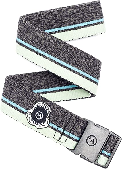Heavy Duty Elastic Webbing Arcade Belt Kids Adventure Belts Non-Metal Adjustable Buckle