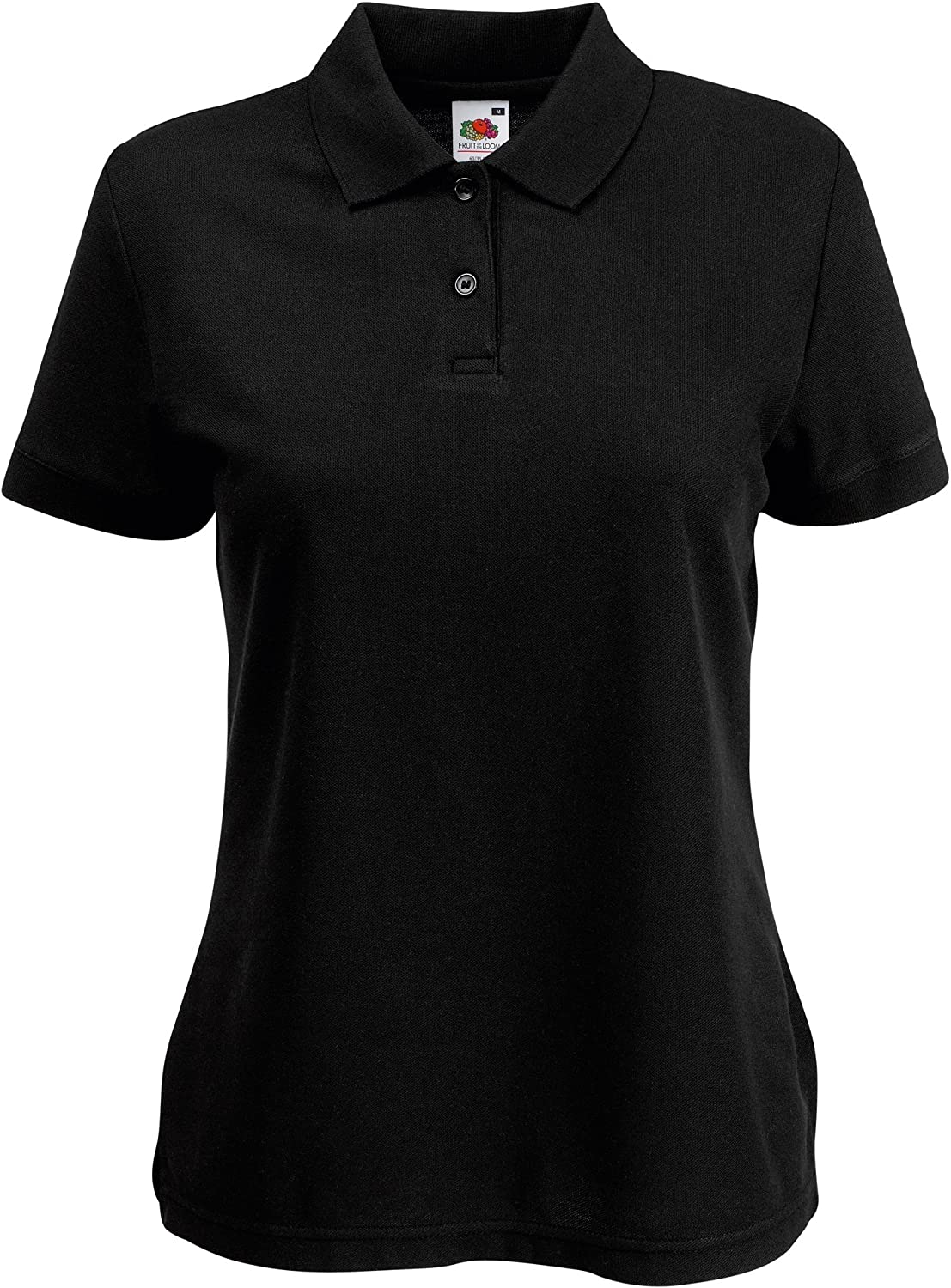 Fruit Of The Loom Donna Polo Manica Corta