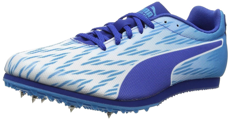 Puma Evospeed Star 5.1, Zapatillas de Running para Asfalto Unisex Adulto 45 EU|Blanco (Puma White-blue Danube-true Blue)