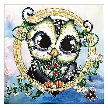 Diamond Painting Animal Cross Stitch Embroidery Mosaic Kit Wall Art Needlework