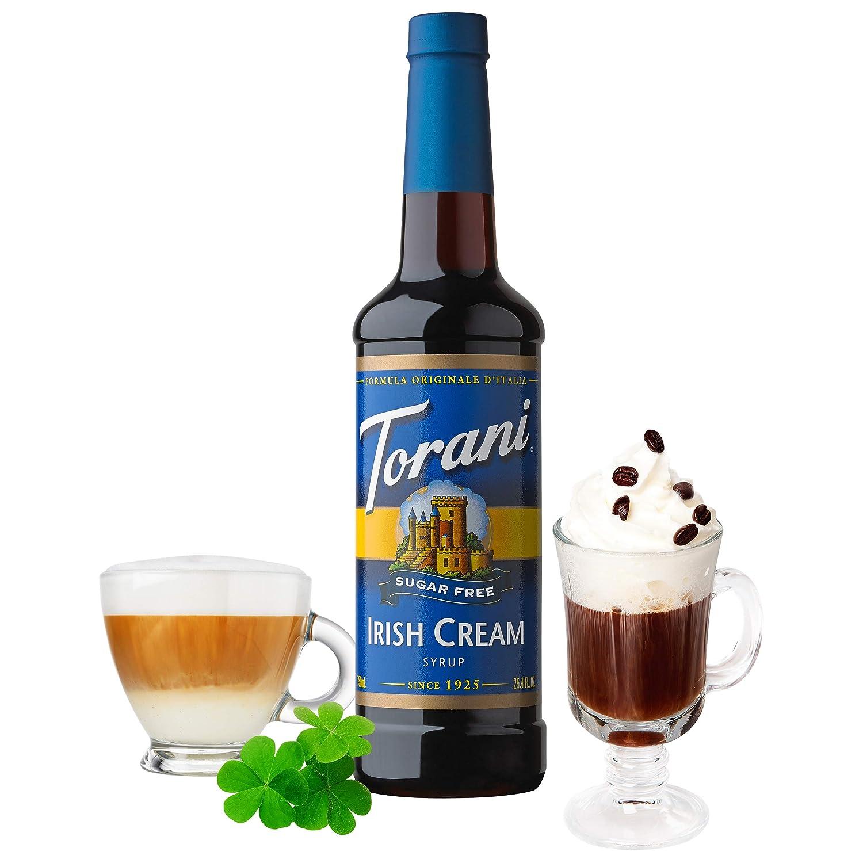 Torani Sugar Free Syrup Irish Cream 25 4 Ounces Pack Of 4