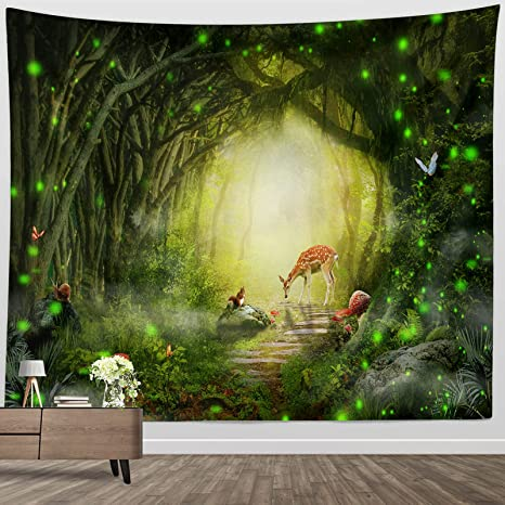 Fantasy Tapestry Printed Tapestry Background Hanging Wall Blanket Painting Decor