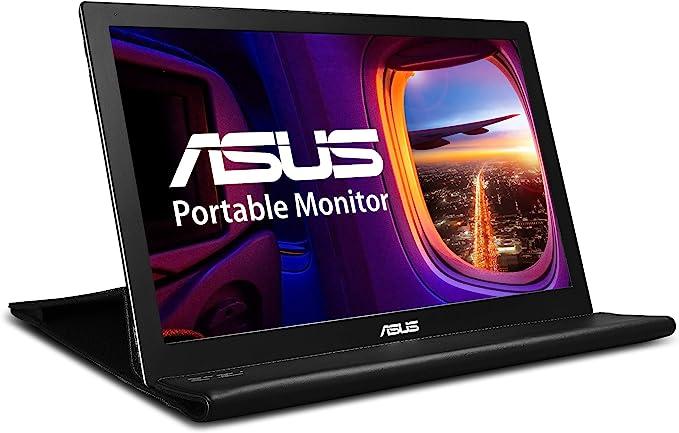 "Amazon.com: ASUS MB168B 15.6"" WXGA 1366x768 USB Portable Monitor,Black/Silver: Computers & Accessories"